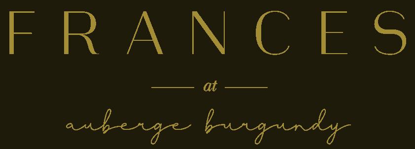 Frances Logo Restaurant Hotel Auberge